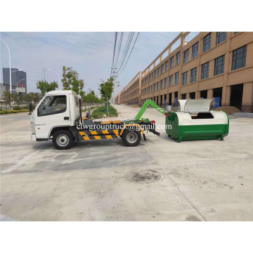 5000 liters arm roll garbage hook lift truck 4x2