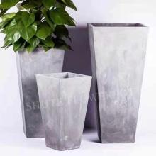 Западные популярные цветочные горшки для цементных плантаторов