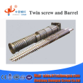 Factory direct twin conical screws and cylinder for PP /PVC/ ABS