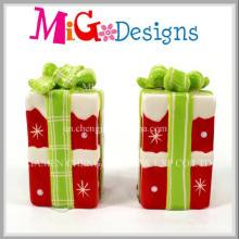 Unique Customed Christmas Artifact Ceramic Decoration