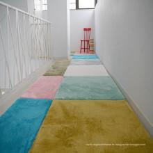 Alfombra remanente felpa alfombra de peluche alfombra peluda corta