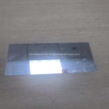 Placa de hoja de espejo de aluminio liso