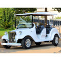 4 seat Chinese mini car gas power with CE for sightseeing