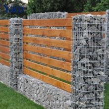 decorative garden fencing Seal Gabion Basket Retaining Wall , Stone Baskets For Retaining Walls 2.0mm