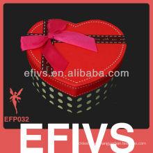 Core rojo moda pendiente caja de regalo tendencia actualmente en estilo