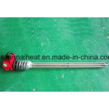 Elemento de aquecimento tubular de titânio à prova de corrosão para a indústria (TG-104)