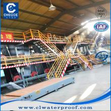 Завод по производству самоклеющейся асфальтовой мембраны для производства войлочных материалов