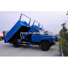 DongFeng cheap price sealed dump garbage trucks