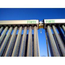 Split High Pressure Anti-Freeze Heatpipe Solar Collector