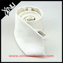 Custom Sublimation White Silk Tie