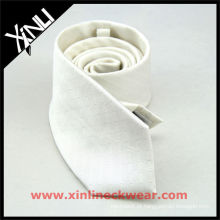 Laço de seda branco da sublimação feita sob encomenda
