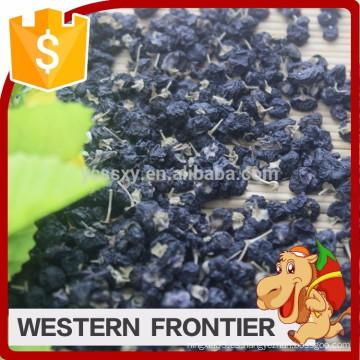 Forma entera y estilo secado baya negra orgánica del goji
