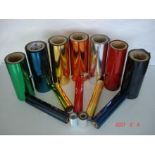 Rolo de folha de alumínio de cabelo impresso com caixa. Folha de alumínio colorido em rolos (1000 e 8000 SERIES)