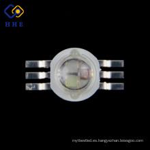 alta calidad a todo color 350ma rgb led 1 w rgb led