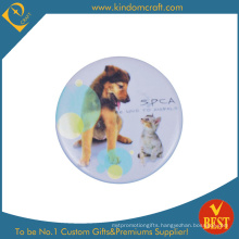 Spca Tin Button Badge for Advertising to Protect Animal