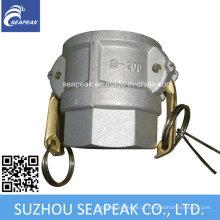 Acoplamento de alumínio Camlock - Tipo D