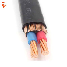 Copper conductor XLPE insulated electrical cable concentric cable price