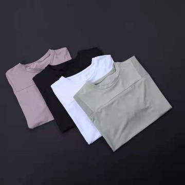 Kurztrockenes Kurzarm-T-Shirt für Damen