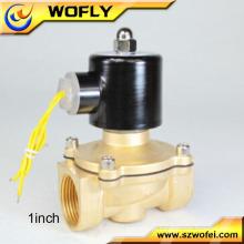 Válvula solenóide pneumática de 24v dc