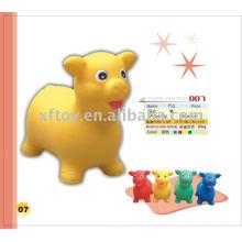 Juguete inflable del animal del cerdo del PVC