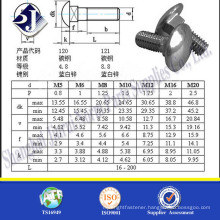 square hole carriage bolt washer m4 carriage bolt flat head carriage bolt