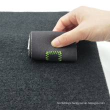 Customized size nylon hook and loop fabric tape sheet