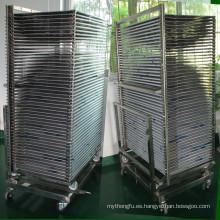 Pantalla de acero inoxidable de SUS304 TM-50ds Racks de secado
