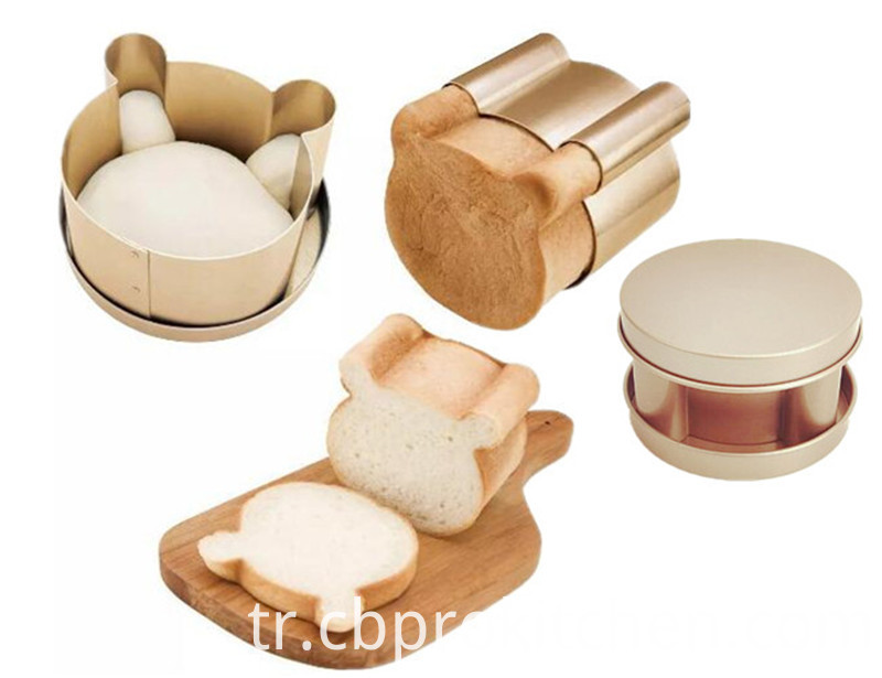 Bear Toast Mould Set