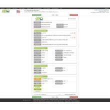 Образец данных импорта из США для ЖК-монитора