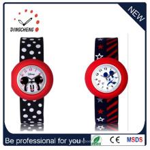Impermeable reloj de pulsera de silicona de cuarzo muñeca reloj (DC-1052)