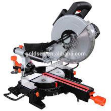 255mm 1800w Low Noise Long Life Portable Wood/Aluminium Cutting Cut-Off Saw Machine Induction Motor Electric Power Cutting Saw