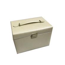 Klassische dekorative große weiße Schmuckaufbewahrungsbox