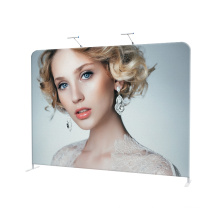 Aluminum tension fabric portable photo booth display collapsible backdrop stand
