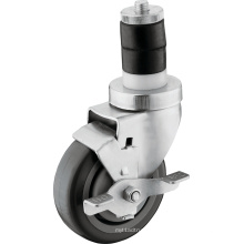 Medium Duty PU Wheels with Tread Brake