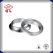 3A 304/316L Sanitary Stainless Steel Tc Tri Clamp Ferrule 14wmp
