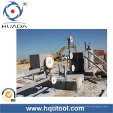 Drahtsäge-Maschine für die Steinblock-Quadratur