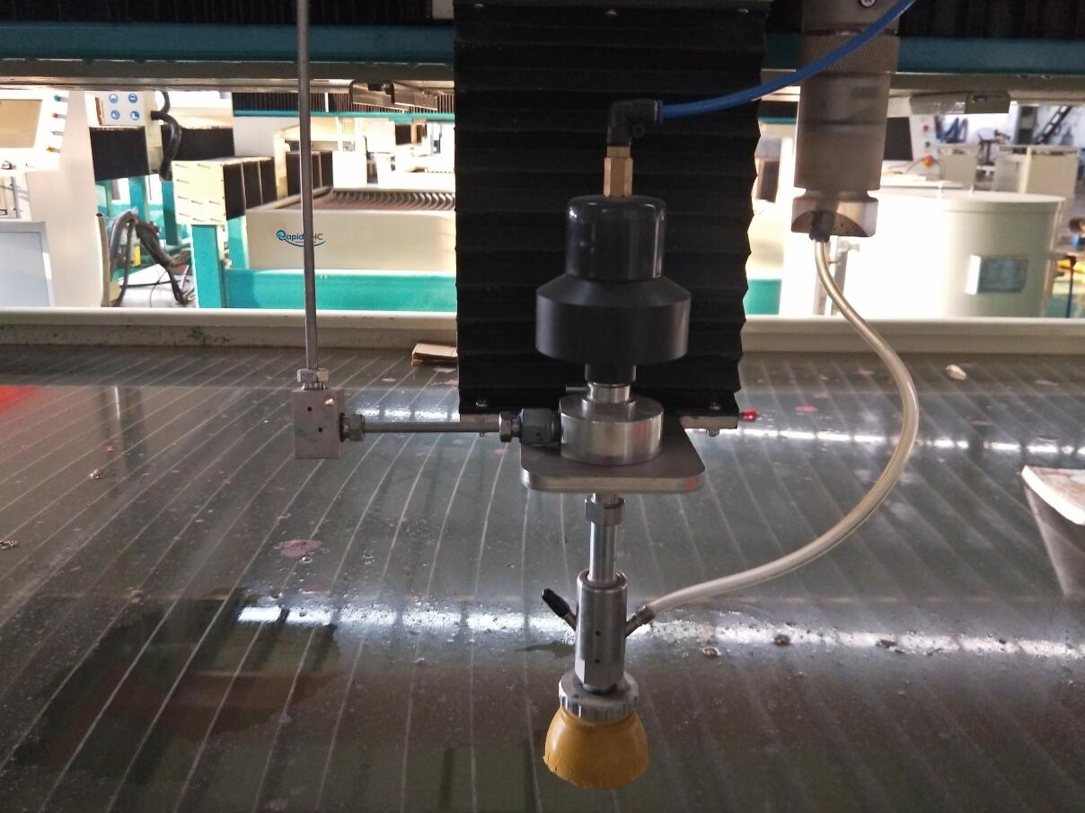 waterjet cutting machine for glass