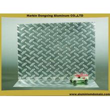 Plaque à damier en aluminium