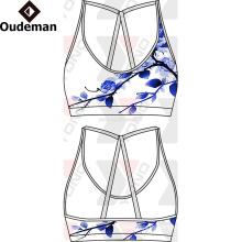 Desgaste impreso desgaste de alta calidad de la ropa para mujer al por mayor de la yoga con el gráfico