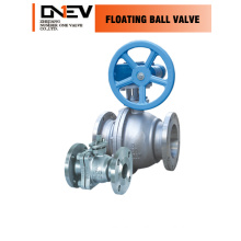 "CE 3 Pieces Carbon Steel Ball Valve (Q41F-6"")"