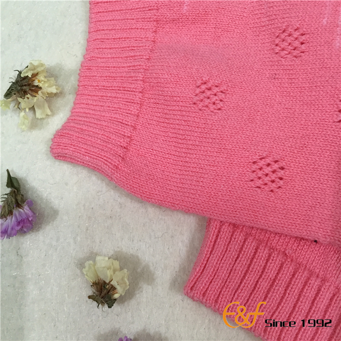 Pointelle Sweater 1*1Rib