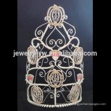 Último tiara del grupo tiara corona coronas de halloween