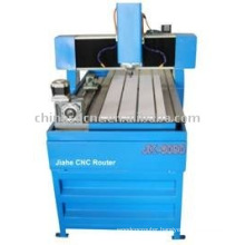 JK-6090 wood engraving machine with 4-axis
