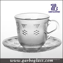 Set de table et de soucoupe en verre / table à thé (GTZ-GB09D2806MH)
