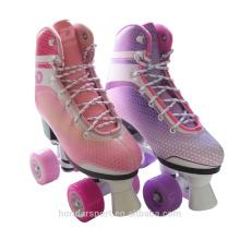 Advanced design pu wheels professional artistic quad skates for sale