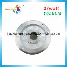 27W High Quality Warm White/RGB LED IP68 Fountain Light, Fountain Underwater Light