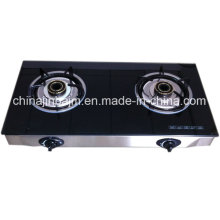 2 Burners Tempered Glass Top Stainless Steel Energy Saving /Gas Stove/Gas Cooker