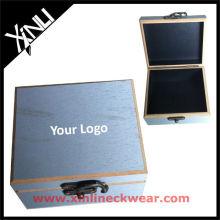 Melhor qualidade de madeira caixa de exibição de gravata