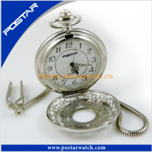 Vintage estilo clássico design relógio de bolso de quartzo