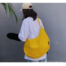 New arrival crossbody canvas bag fashion single shoulder bag Girl's messenger bag